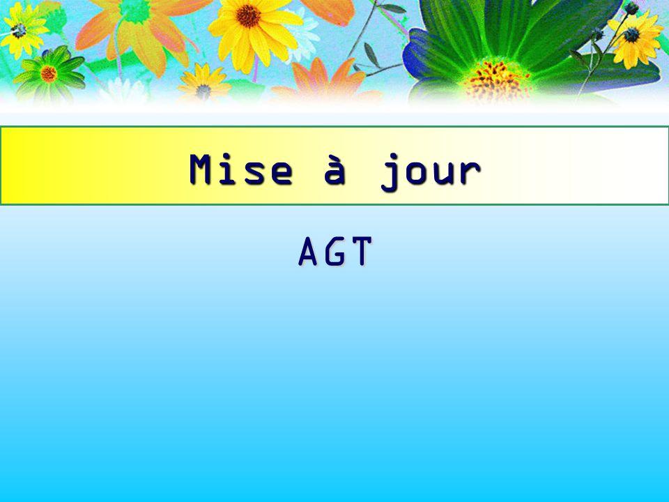 AGT Mise à jour