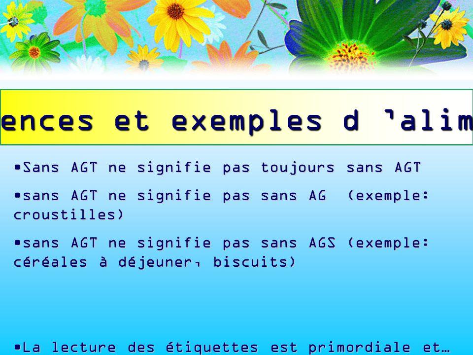 Sans AGT ne signifie pas toujours sans AGTSans AGT ne signifie pas toujours sans AGT sans AGT ne signifie pas sans AG (exemple: croustilles)sans AGT n
