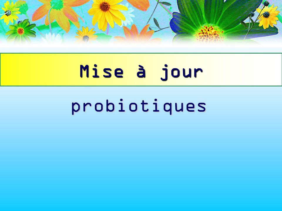 probiotiques Mise à jour