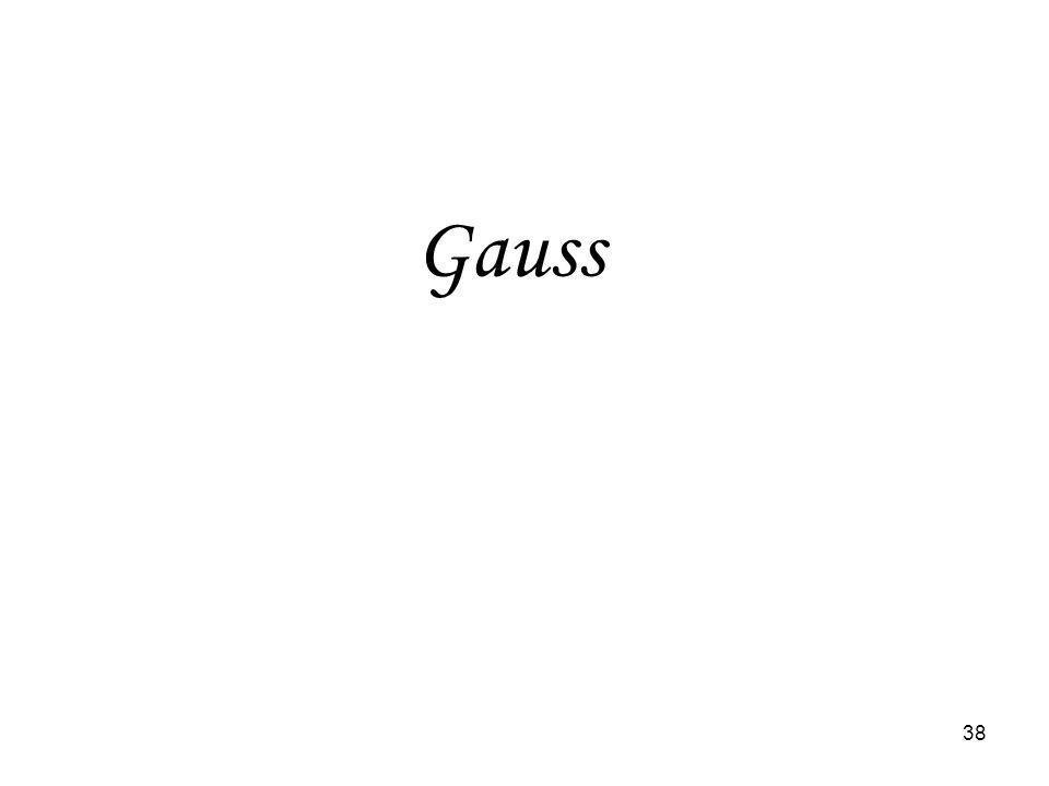 38 Gauss