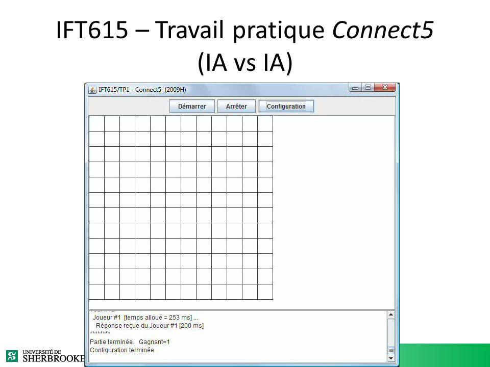 IFT615 – Travail pratique Connect5 (IA vs IA)