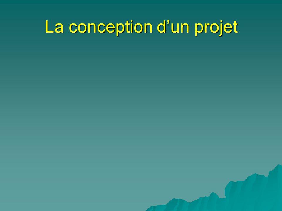La conception dun projet