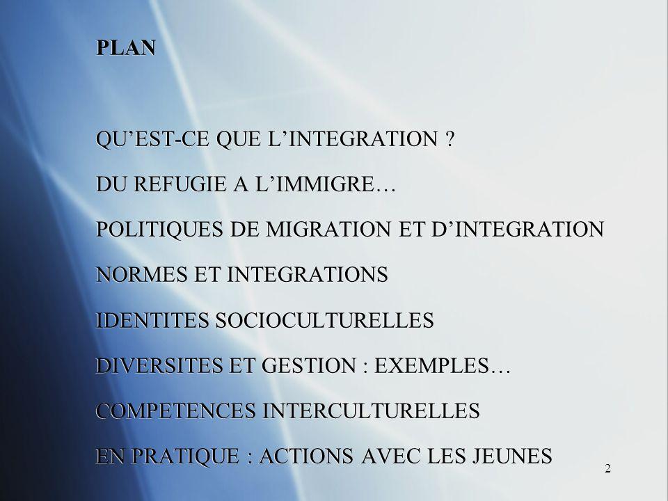 13 Enquête PISA 2003 de lOCDE : Programme of International Student Assessment : « Where immigrant students succeed .