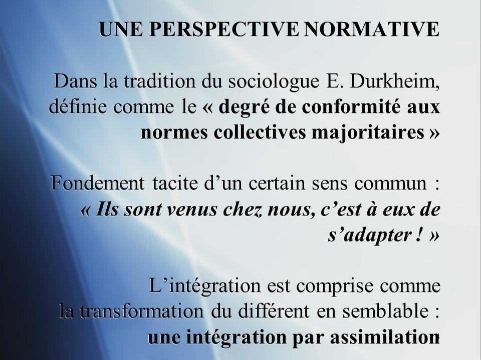5 Comment mesurer lintégration par assimilation .