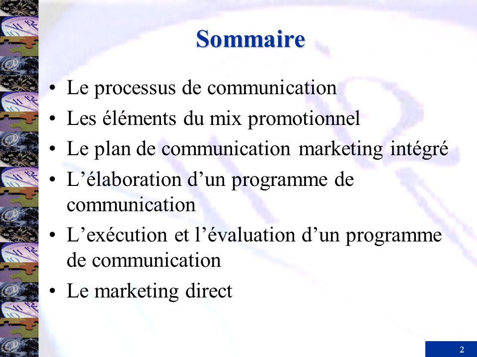 3 Le processus de communication Émetteur Bruit Boucle de rétroaction Bruit Champs dexpérience CodageDécodage Bruit Récepteur Canal de Message communication
