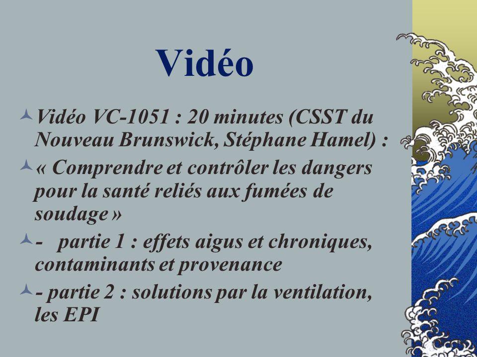 Question 1.1 Visionner le vidéo sur le soudage à larc et donner des exemples de contraintes Imaginez les moyens pour évaluer Suggérer des solutions