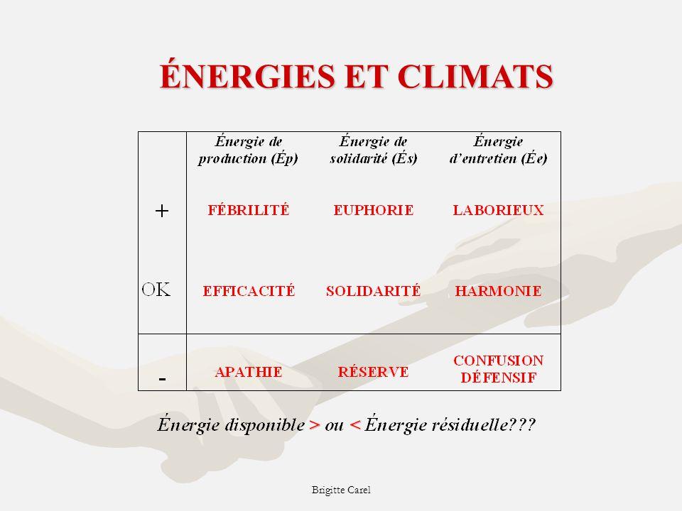 Brigitte Carel ÉNERGIES ET CLIMATS