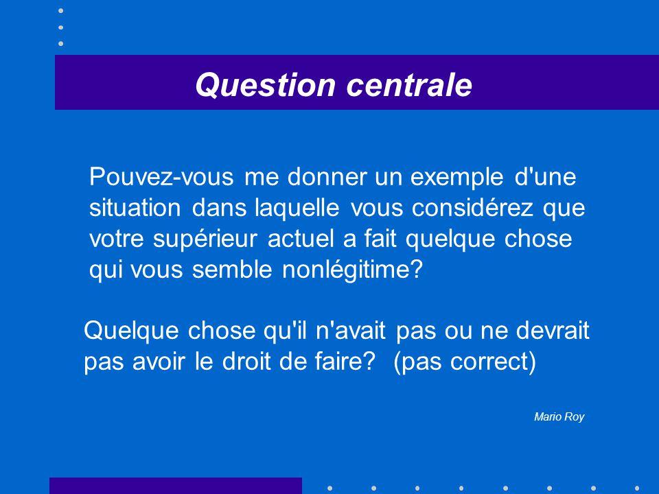 Protocole d entrevues Consentement Mise en train Situations légitimes et non-légitimes Variables intervenantes Questions générales Terminaison
