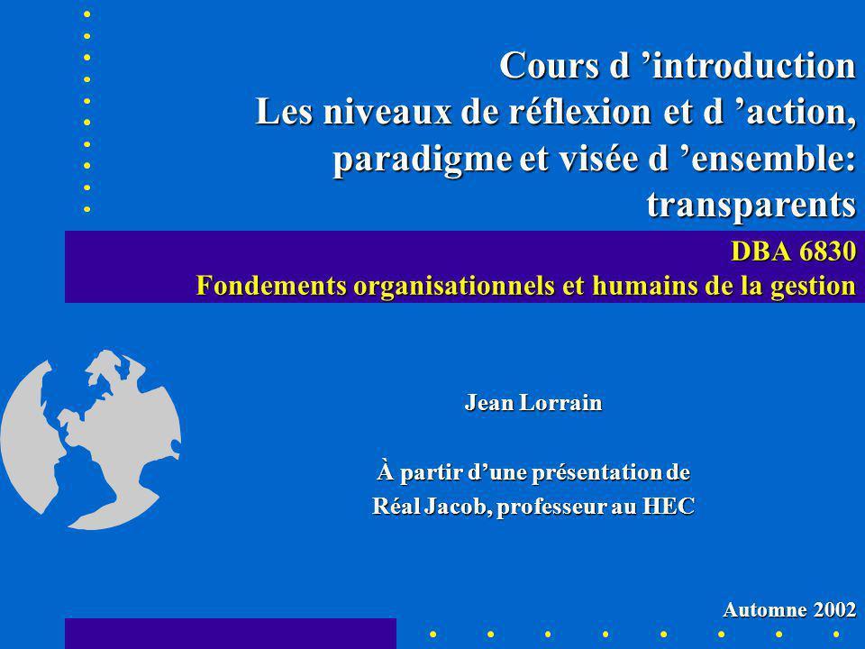Réal Jacob, UQTR, 2000.
