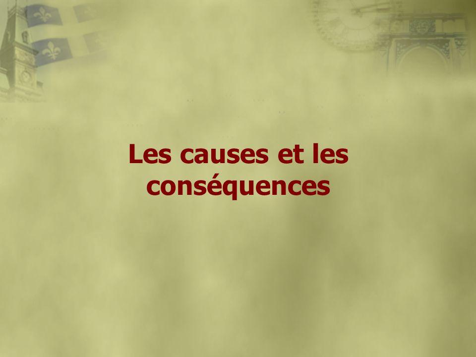 Les causes et les conséquences