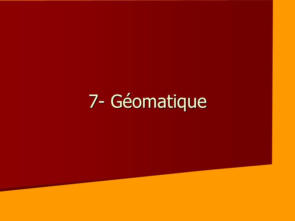 7- Géomatique