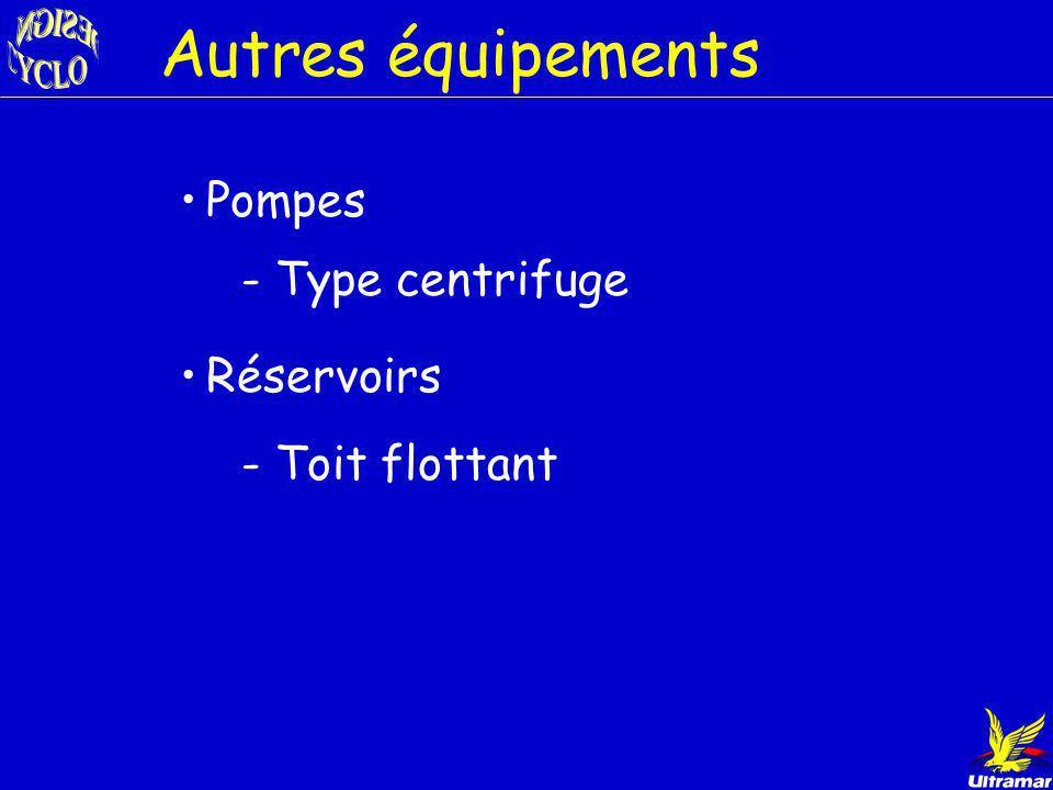 Type de condenseurs Échangeurs de chaleur shell and tubes - Selon la température Aérorefroidisseurs - Fluides caloporteurs