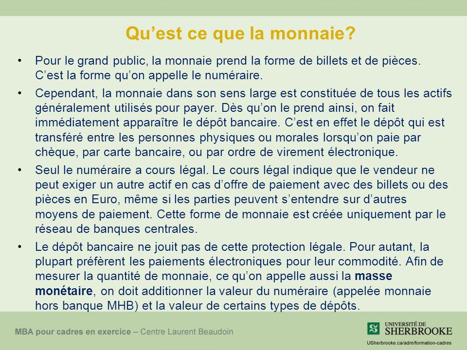 Le mécanisme de transmission de la politique monétaire Source : http://www.bank-banque-canada.ca/fr/monetaire_mod/mechanism/index.htmlhttp://www.bank-banque-canada.ca/fr/monetaire_mod/mechanism/index.html