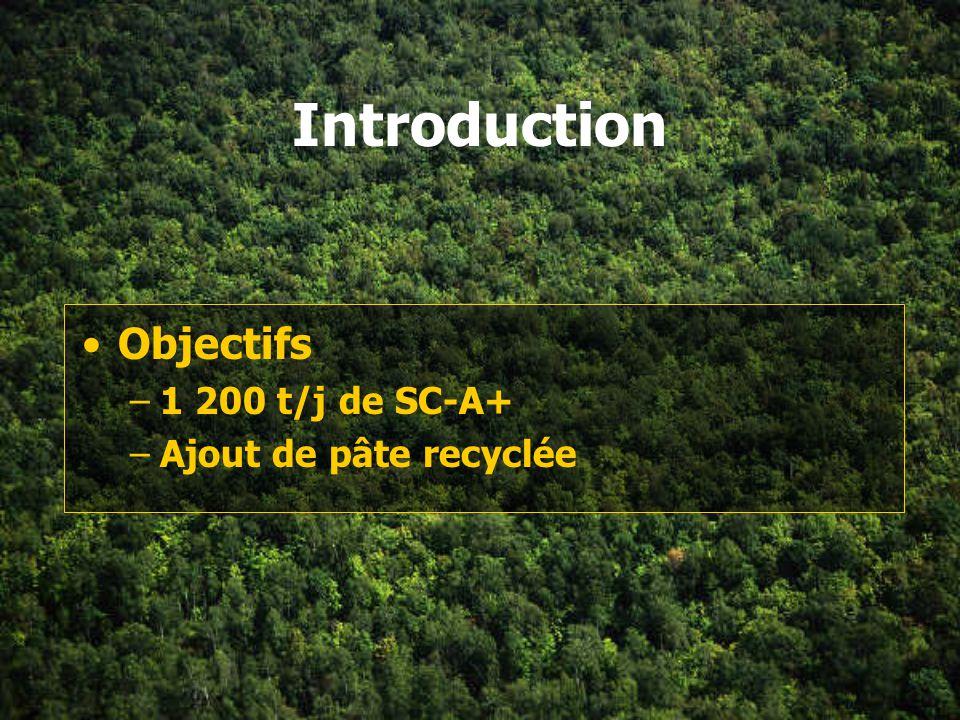 Plan de la section Introduction Traitement des copeaux Pâte thermomécanique Désencrage Machine à papier
