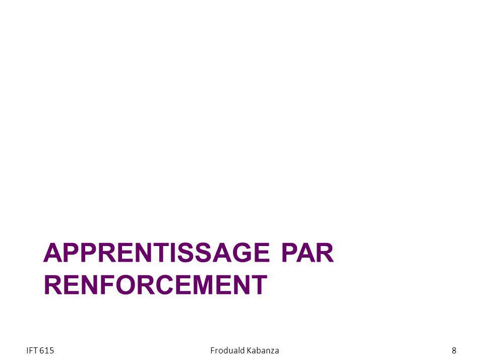 APPRENTISSAGE ACTIF IFT 615Froduald Kabanza59