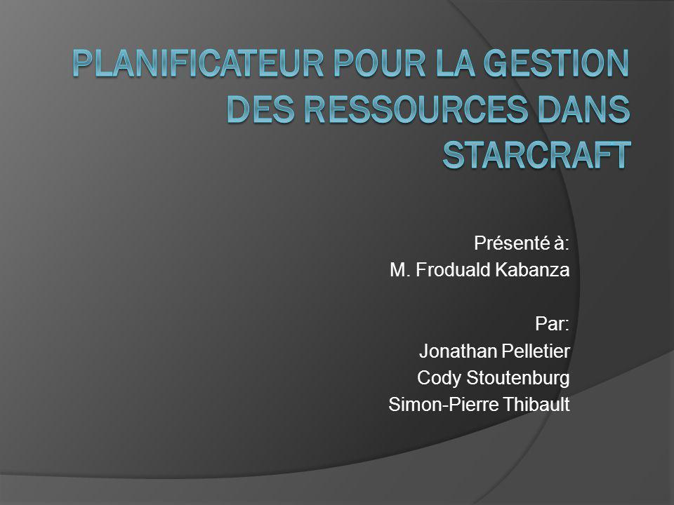 Présenté à: M. Froduald Kabanza Par: Jonathan Pelletier Cody Stoutenburg Simon-Pierre Thibault
