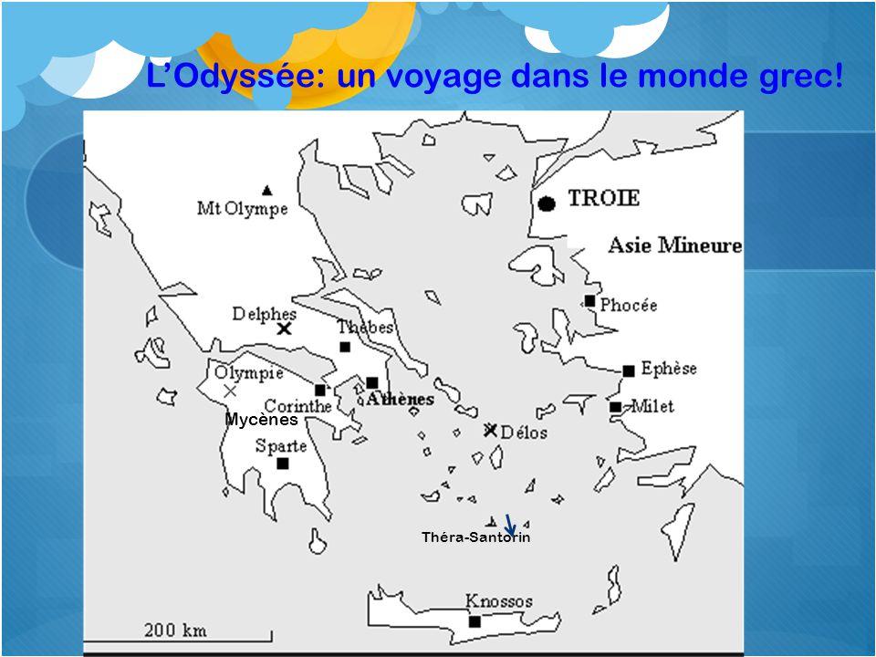 LOdyssée: un voyage dans le monde grec! Mycènes Théra-Santorin