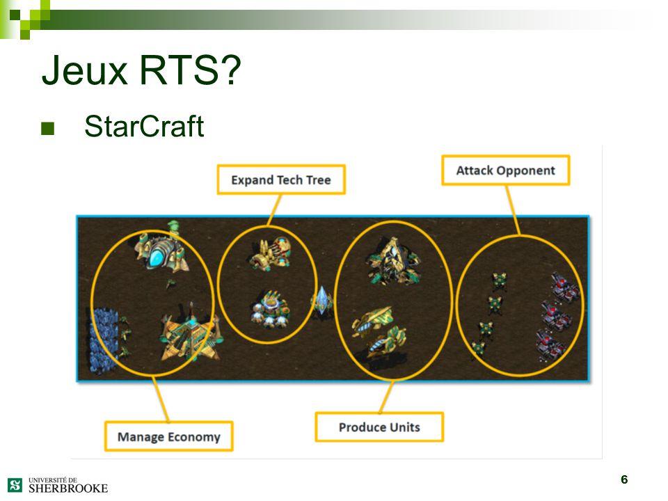6 StarCraft Jeux RTS?