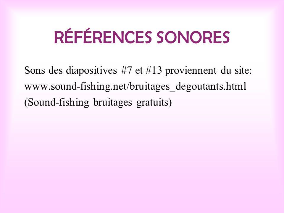 RÉFÉRENCES DES IMAGES Image de la diapositive #1 provient du livre Pétunia princesse des pets (voir Référence bibliographique).