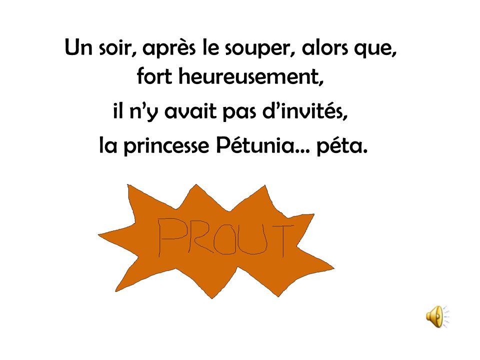 La princesse Pétunia ne cessa dagir en princesse parfaite jusquà ce quun événement vienne ternir son bonheur et celui de ses royaux parents.