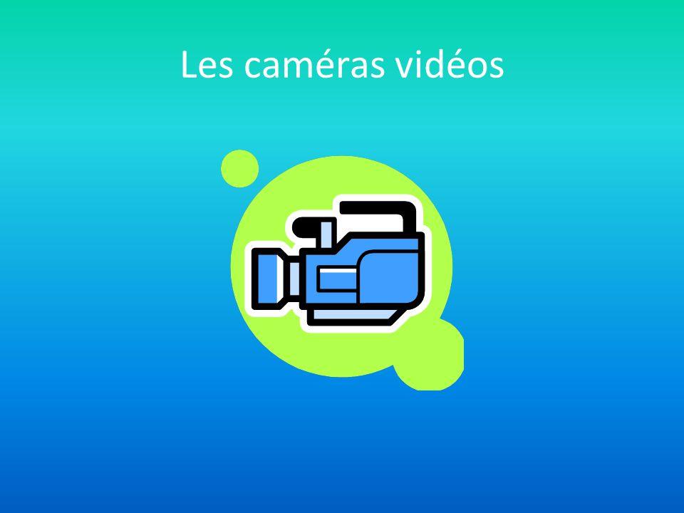 Les caméras vidéos
