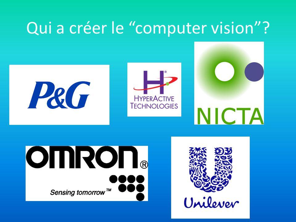 Qui a créer le computer vision?