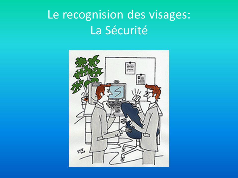 Le recognision des visages: La Sécurité