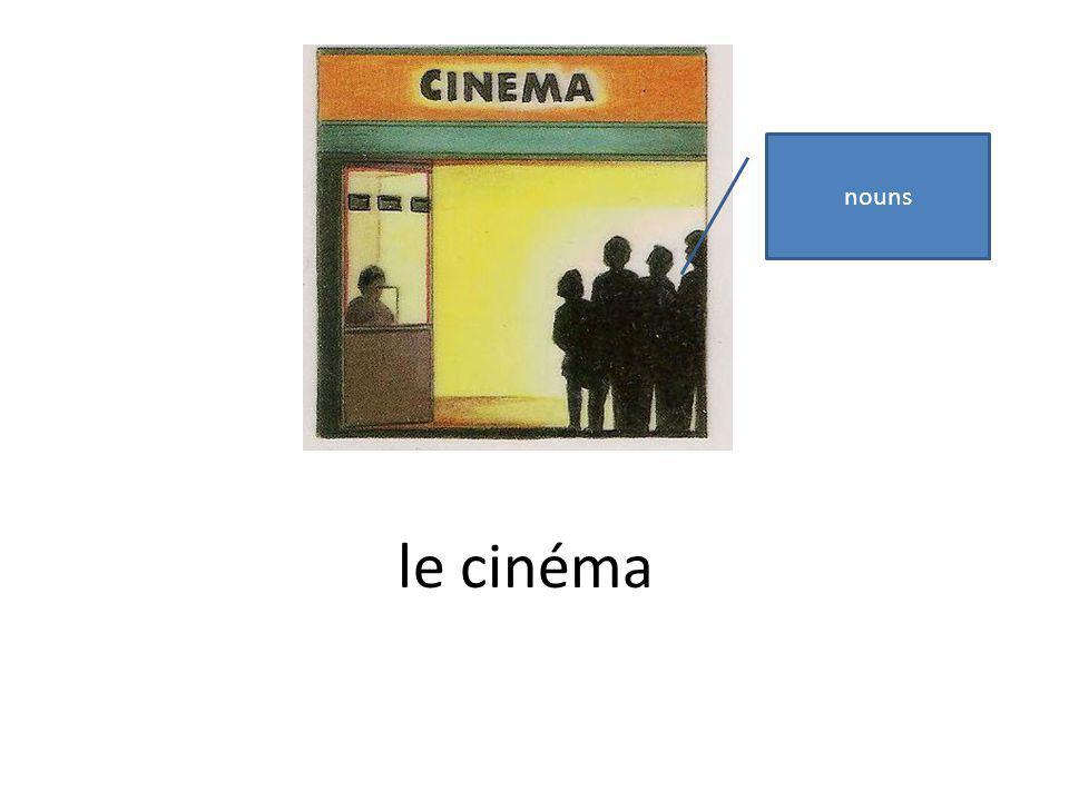 le cinéma nouns