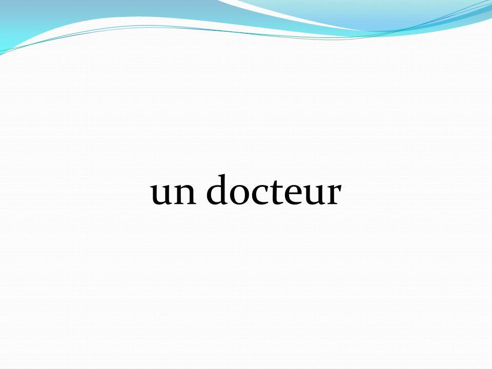 un docteur