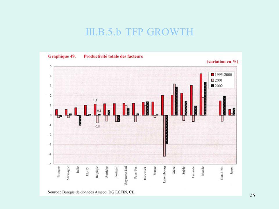 25 III.B.5.b TFP GROWTH