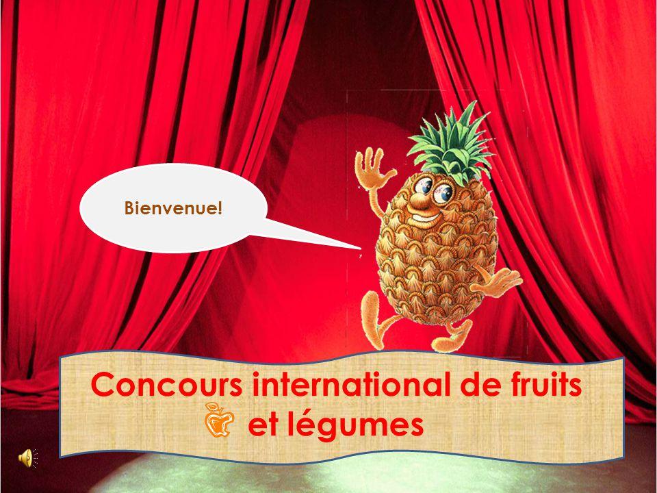 Concours international de fruits et légumes Bienvenue!