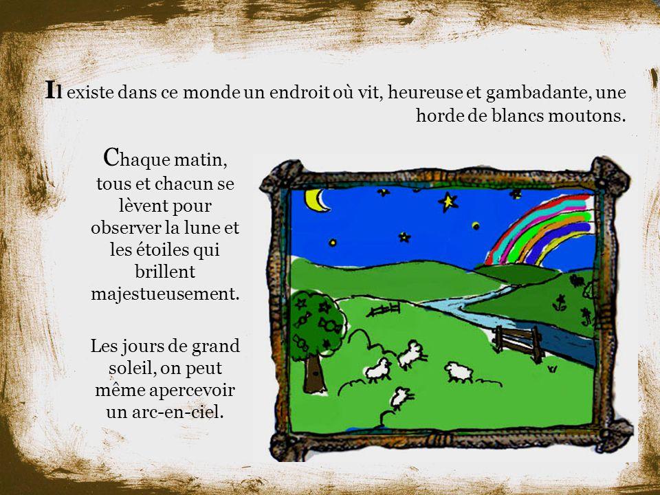 Le petit mouton noir au pays des rêves Histoire présentée et composée par Nicolas Clément et Keven Boutin.