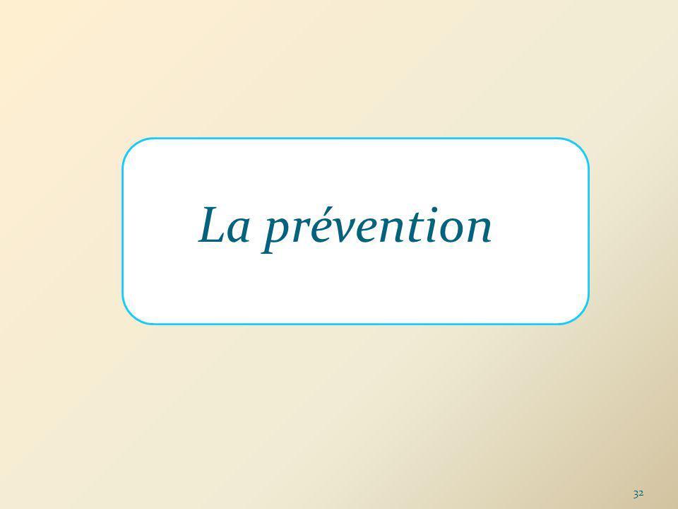 La prévention 32
