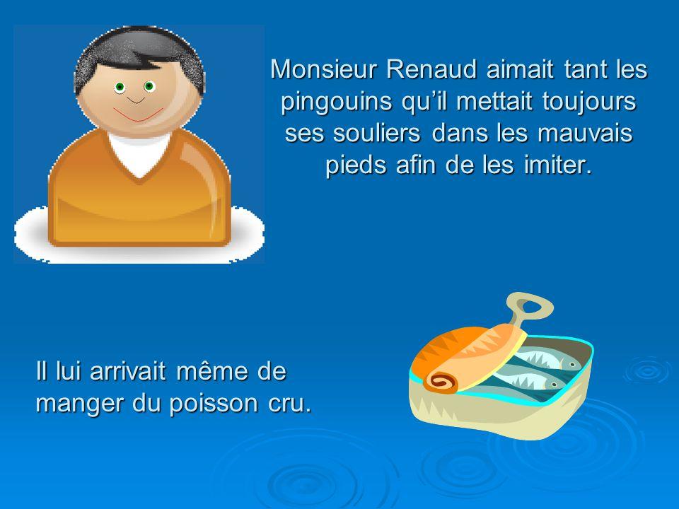 Il était une fois, à St-Hilarion, un petit village québécois, un homme solitaire qui avait une grande passion pour les pingouins.