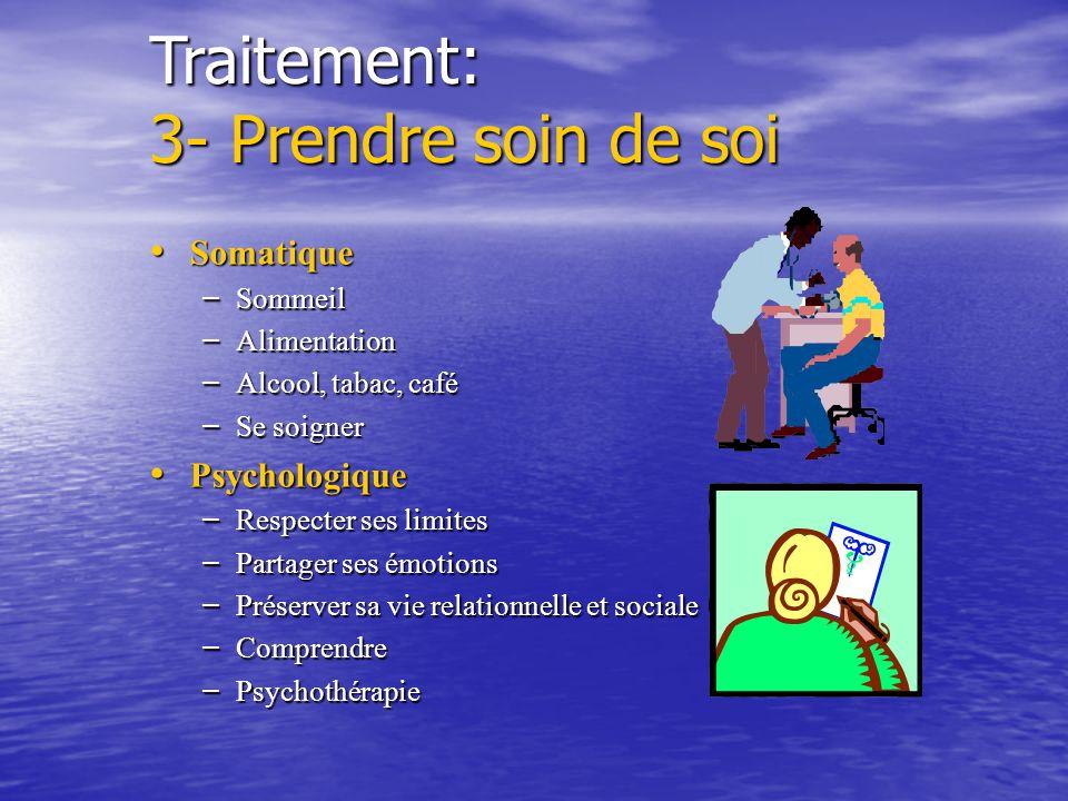 Traitement: principes 2- Gérer son stress La Kiné La Kiné –Sophrologie principe: à partir du corps se sentir bien. En sophro on part des endroits où o