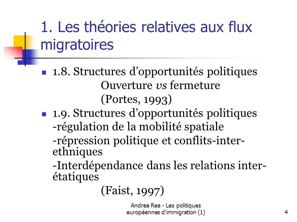 Andrea Rea - Les politiques européennes d immigration (1)5