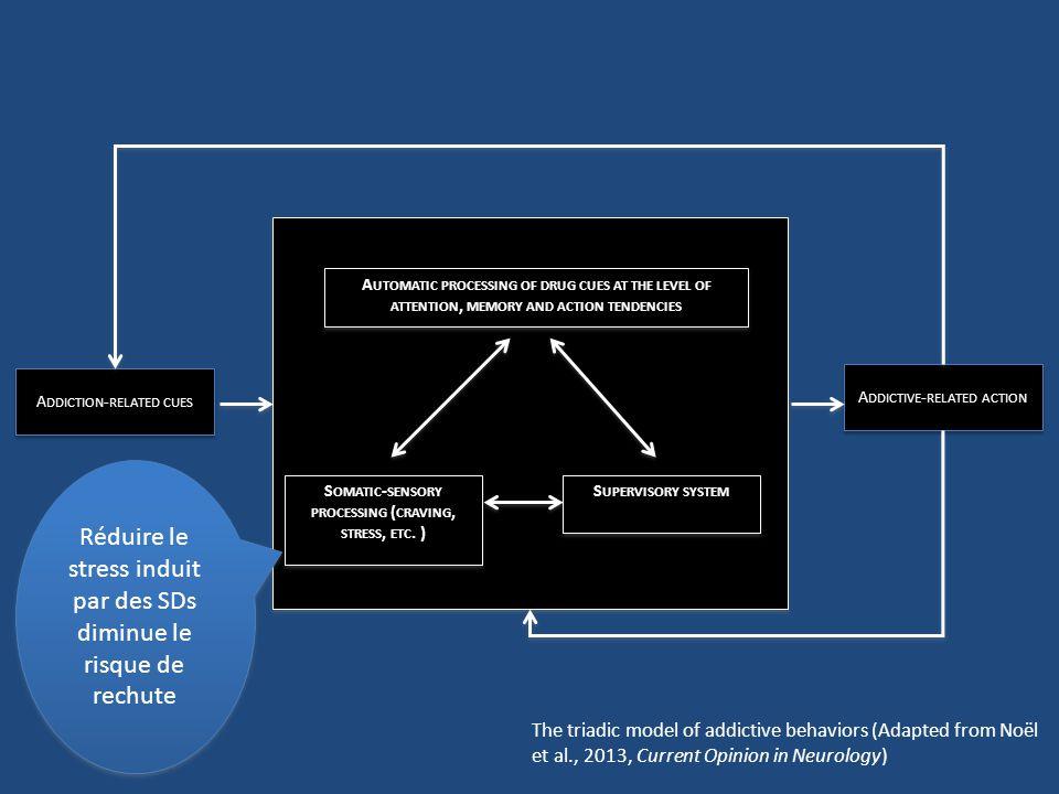 Les ingrédients dune addiction Renforcement positif Renforcement négatif Habitudes Incentive motivation