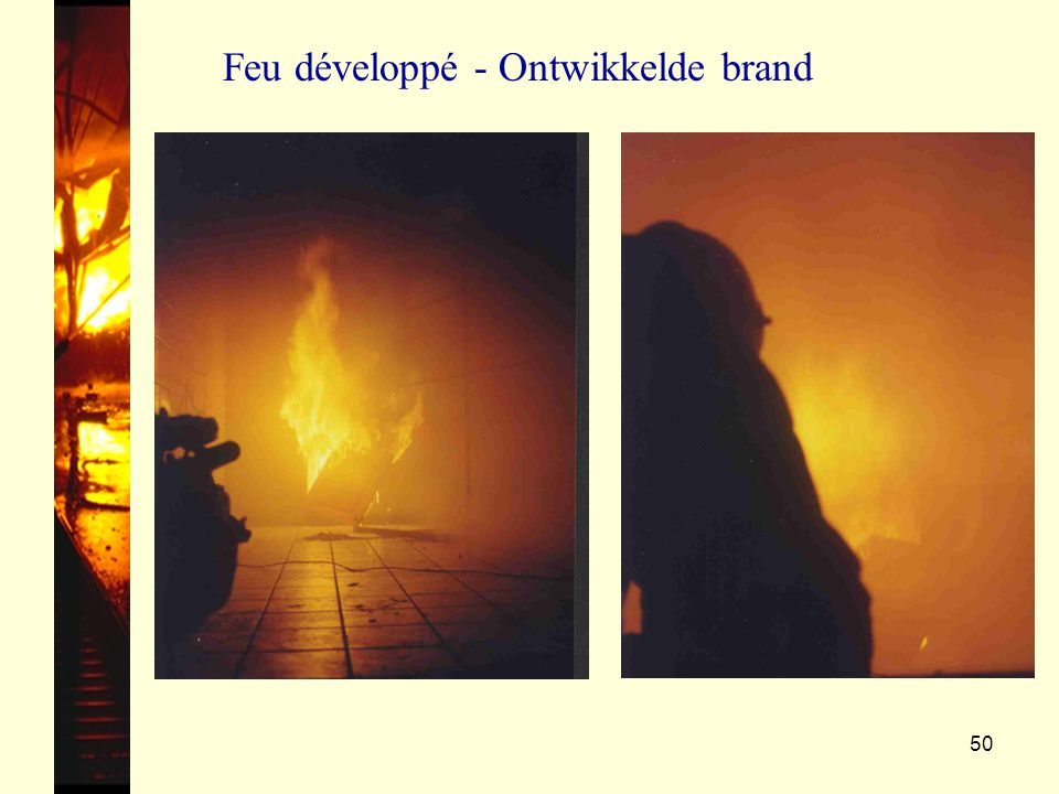 50 Feu développé - Ontwikkelde brand