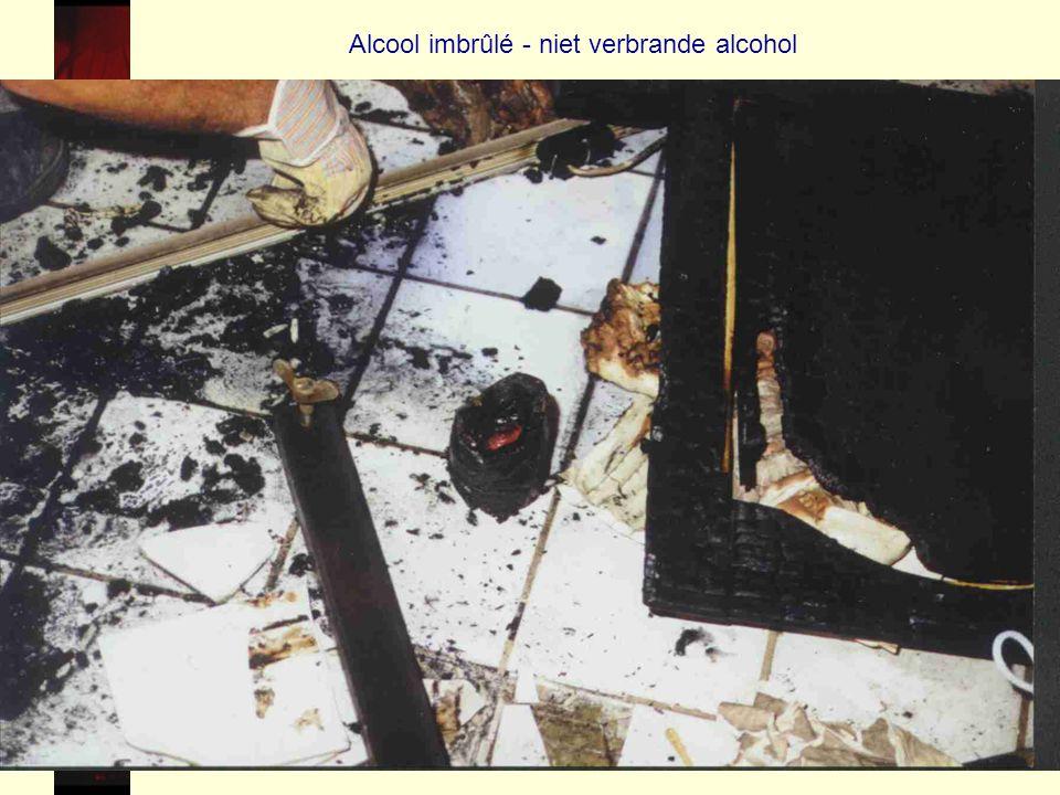 58 Alcool imbrûlé - niet verbrande alcohol