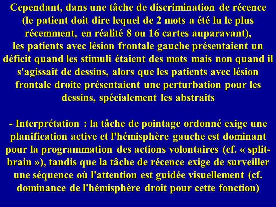 Très proche du syndrome de Capgras: la paramnésie de redoublement », dans laquelle manque la composante psychiatrique (l idée de persécution).