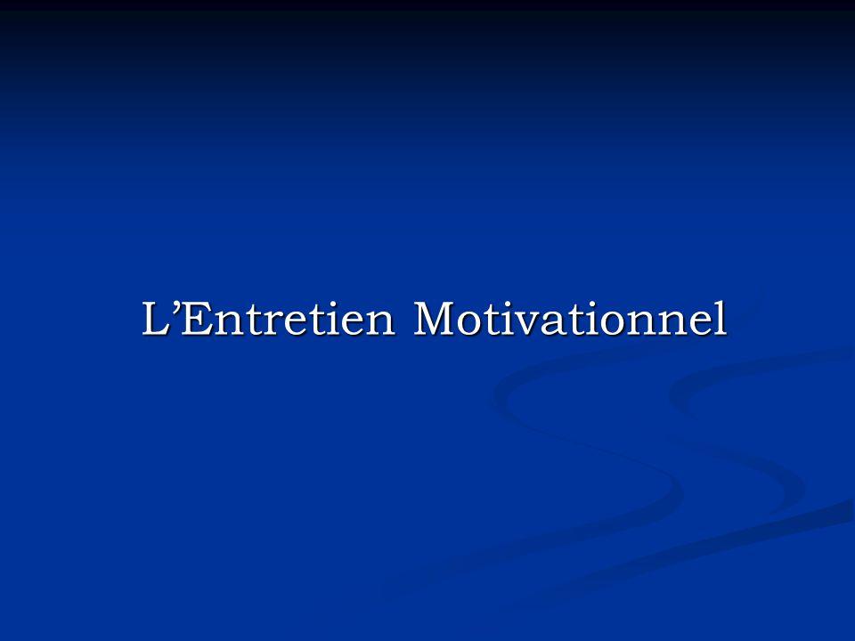 LEntretien Motivationnel