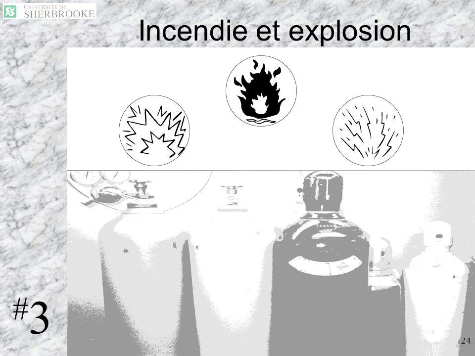 23 Incendie et explosion 24 #3#3