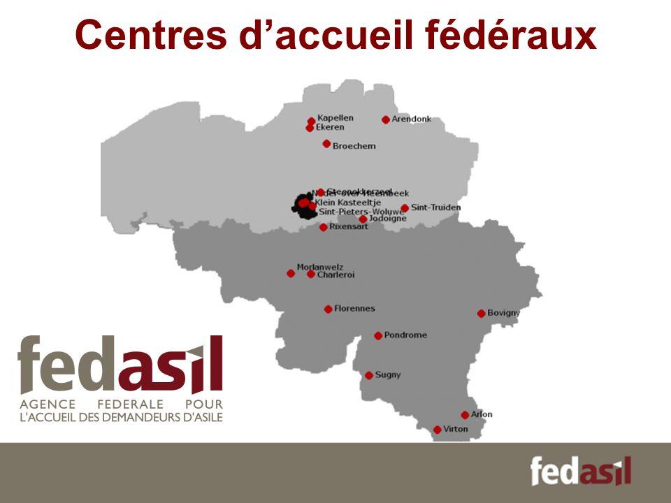 Centres daccueil fédéraux