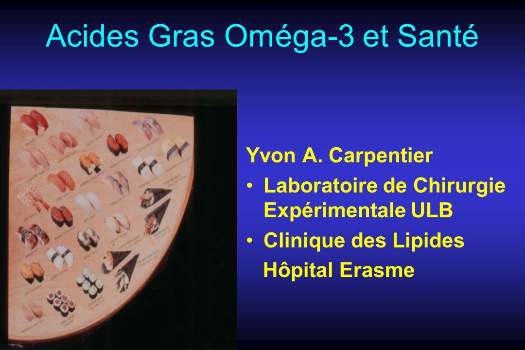 Acides Gras Oméga-3 et Santé Yvon A.