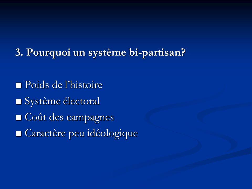 3. Pourquoi un système bi-partisan.