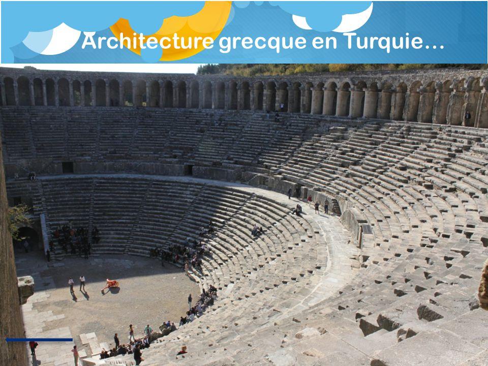 Architecture grecque en Turquie…