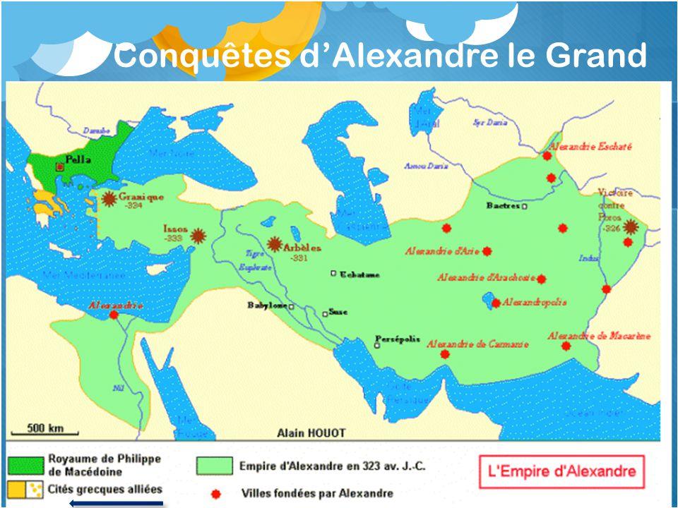 Conquêtes dAlexandre le Grand