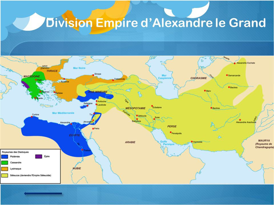 Division Empire dAlexandre le Grand