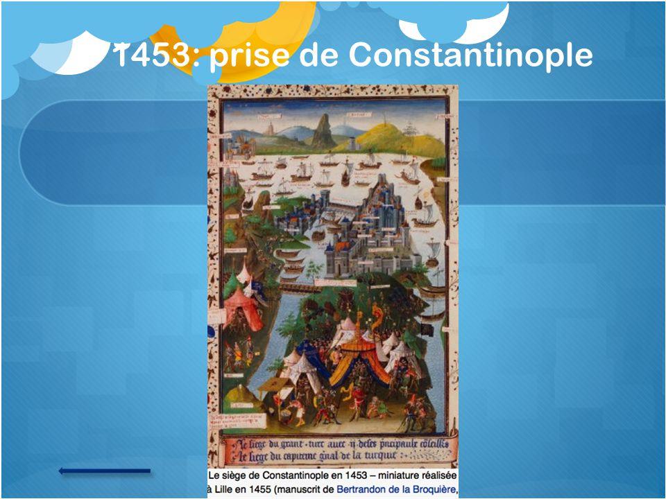 1453: prise de Constantinople