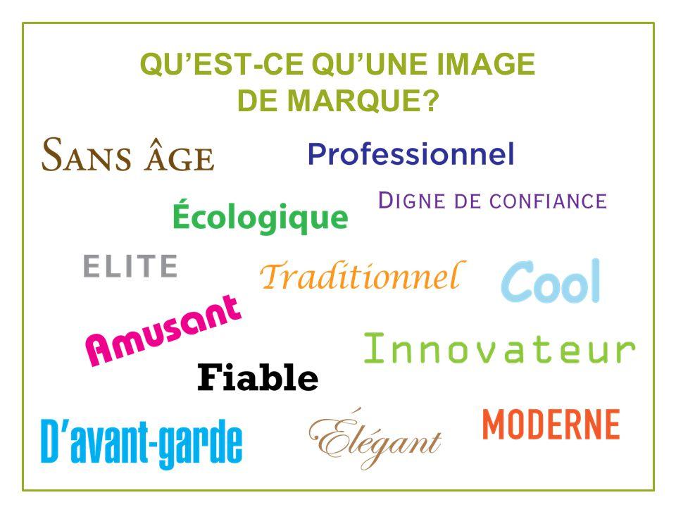 QUEST-CE QUUNE IMAGE DE MARQUE